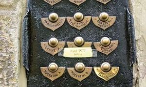The Doorbells of Florence - Via Nazionale, 16