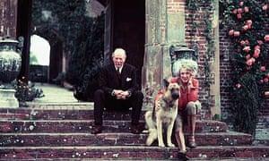 Harold Nicolson and Vita Sackville West at Sissinghurst