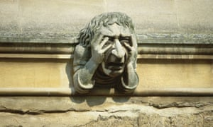 Grimacing Gargoyle at Oxford University