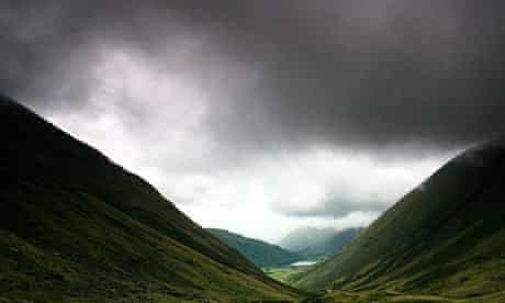 Clouds over Kirkstone Pass