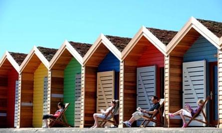 British summer in Blyth, Northumberland