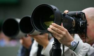 Long lens photographers