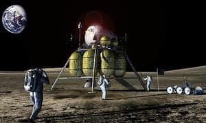 Nasa's 21st century moon mission