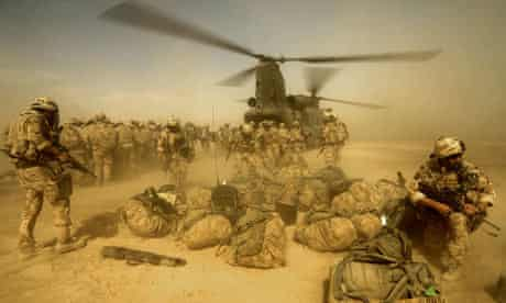 K Company, 42 Commando Royal Marines in Now Zad, Afghanistan