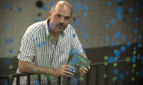 Edge Hill short story prize winner Chris Beckett