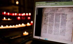codex sinaiticus online