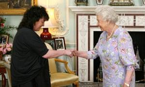 The Queen meets Carol Ann Duffy