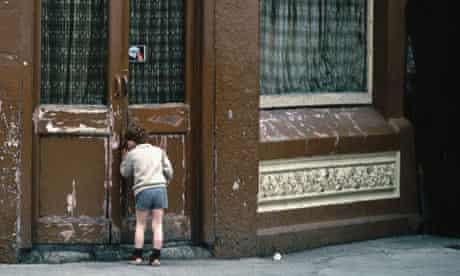 Small boy in Dublin