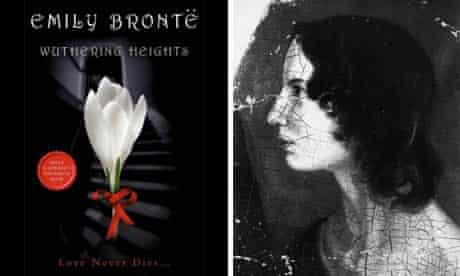 New Wuthering Heights cover and portrait of Emily Brontë