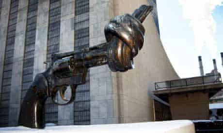 Non-Violence by Karl Fredrik Reuterswald