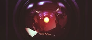 Robots: HAL 9000 in the film of 2001: A Space Odyssey