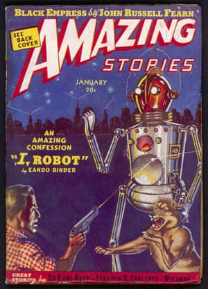 Robots: January 1939 edition of Amazing Stories
