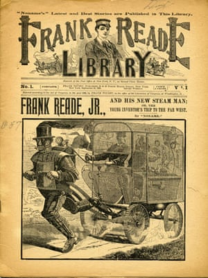 Robots: Steam Man in the Frank Reade Library