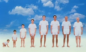 Men growing older