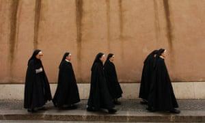 Nuns in Rome