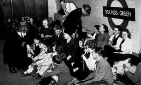 London during an air raid