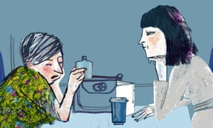 illustration for Julian Barnes short story Sleeping with John Updike