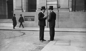 Two gents in the City of London