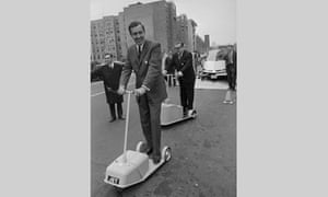 Senators on Electric Scooters
