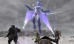 Shiva in the Final Fantasy game