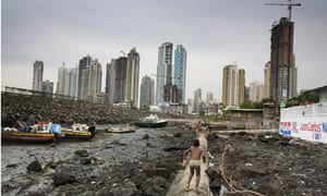 panama city from the slums