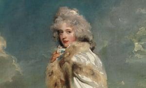 Portrait of Elizabeth Farren (detail) by Thomas Lawrence