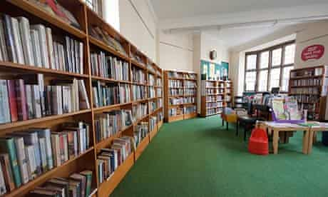Library in Bruton