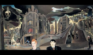 Cowcaddens Streetscape in the Fifties by Alasdair Gray