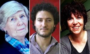 Jane Gardam, Tobias Hill and Carol Birch
