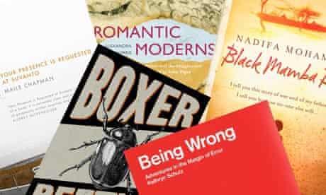 Guardian first book award shortlist