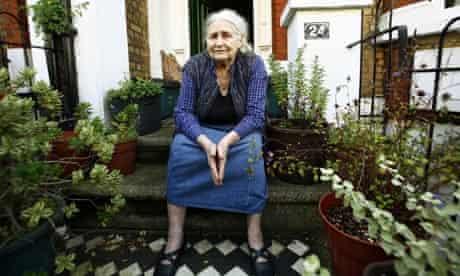 The author Doris Lessing