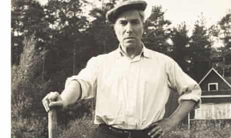 Boris Pasternak outside his home in 1958