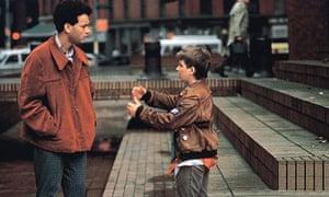 Tom Hanks and Jared Rushton in Big