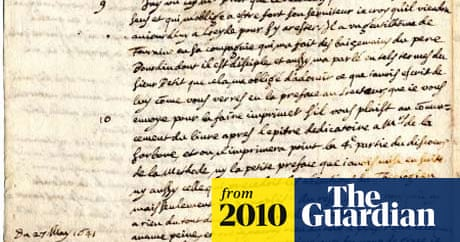 Stolen René Descartes letter discovered at US college
