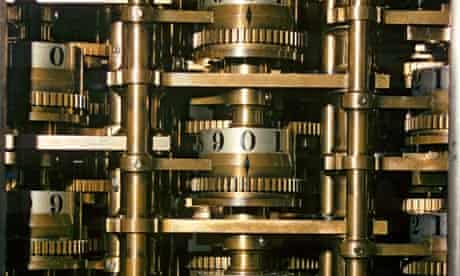 Part of Babbage's Difference Engine
