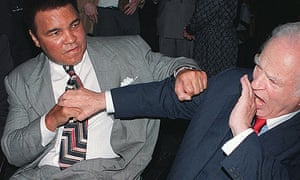 Muhammad Ali and Norman Mailer