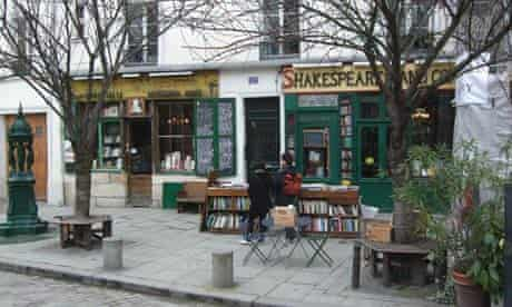 Shakespeare and Company bookshop, Paris