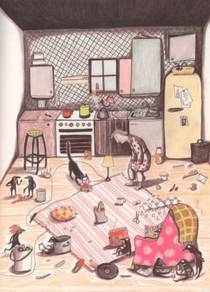 Kitty Crowther: Le grand desordre by  Kitty Crowther