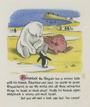 Curious George: Whiteback the Penguin