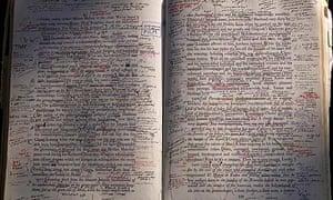 The editors' copy of Finnegans Wake