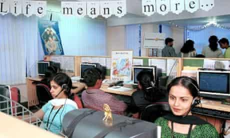 Bangalore call centre