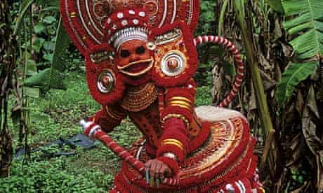 Theyyam dance in Kerala