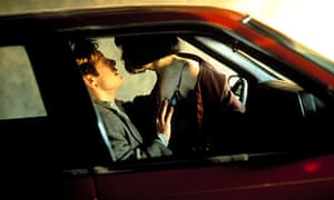 James Spader and Holly Hunter in the 1996 film of Crash.