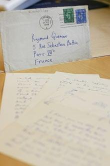 Correspondence with Raymond Queneau