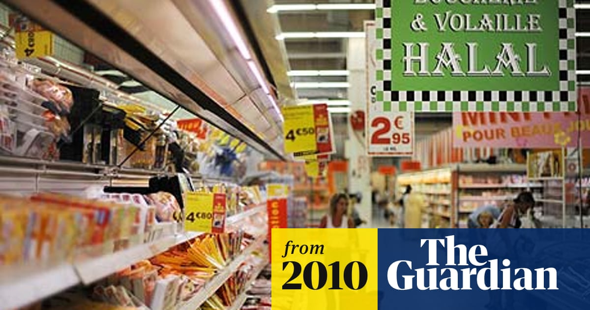 Middle-class Muslims fuel French halal boom | World news | The Guardian