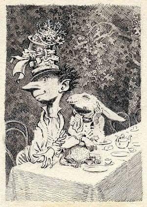 Mervyn Peake: Mervyn Peake Mad Hatter's Tea Party