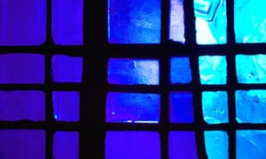 A stained glass window, Metropolitain Cathedral, Liverpool