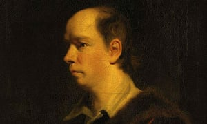 Detail from Sir Joshua Reynolds' portrait of Oliver Goldsmith