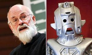Terry Pratchett and Cyberman