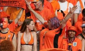 Dutch football fans, World Cup 2006